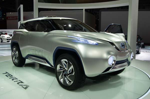 Nissan Unveils Terra Suv Concept Autotrade