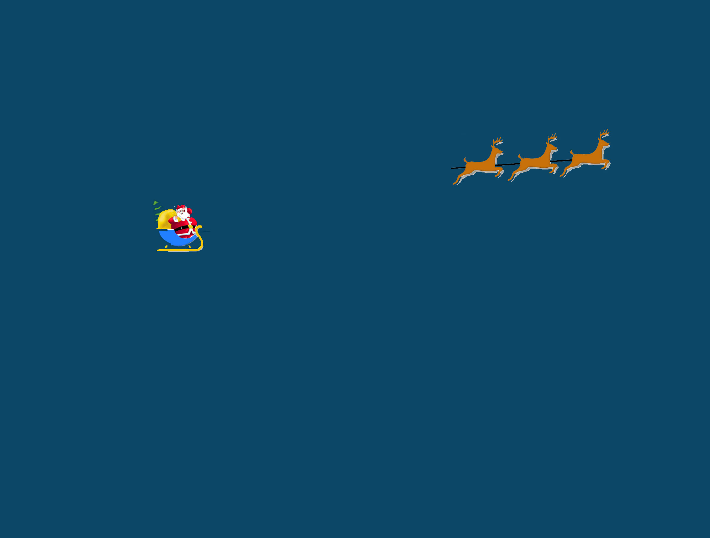 Displaying 18> Images For - Santa Sleigh And Reindeer Gif...