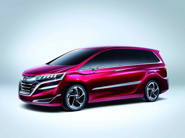 Honda's new-value MPV 'Concept M' debuts