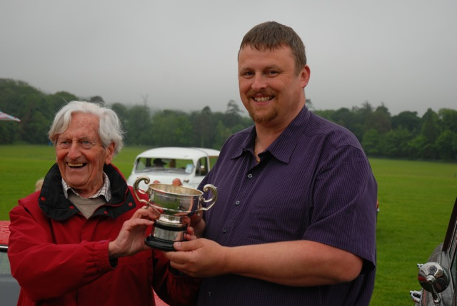 Reynolds Trophy presented to Tom Heavey