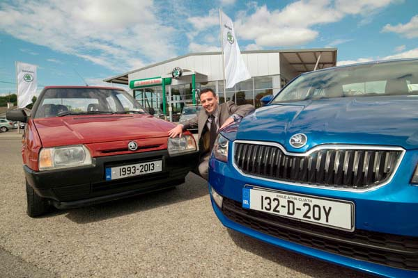20 Years Of A Great Skoda Story In Ireland Autotrade Ie