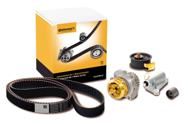 The new packagings for the timing belt kits plus water pump are more modern and protect the product better against external influences.