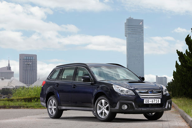 Subaru Diesel Outback with automatic transmission