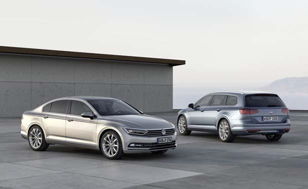 All-New VW Passat Saloon & Estate