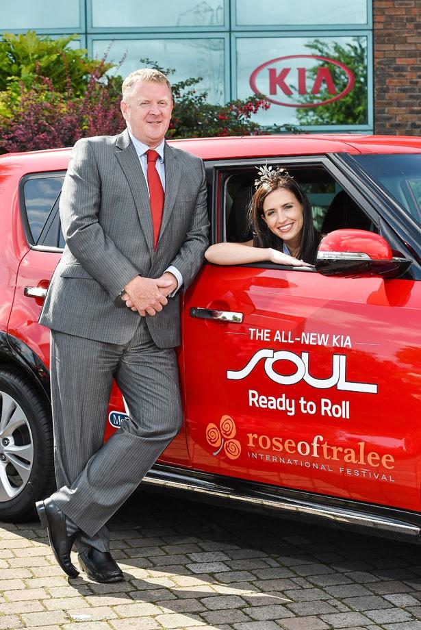 Kia Sponsors Rose Of Traleemotorshow Motorshow