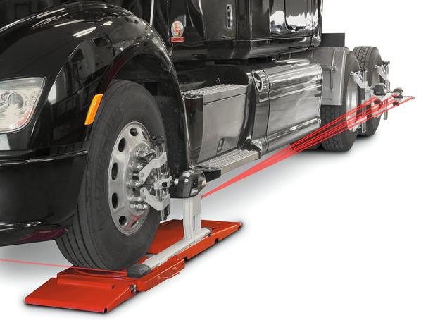 Truck-aligner