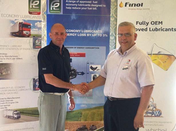 1st Prize:  John Grant, Gowan Motors Merrion, with Dav Chase, Finol Oils