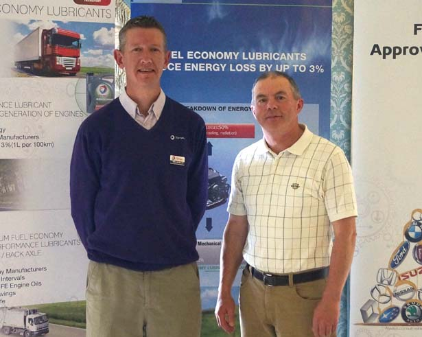 2nd: Prize: John McCarthy, MC and S Agri, with Kevin Condon, Finol Oils