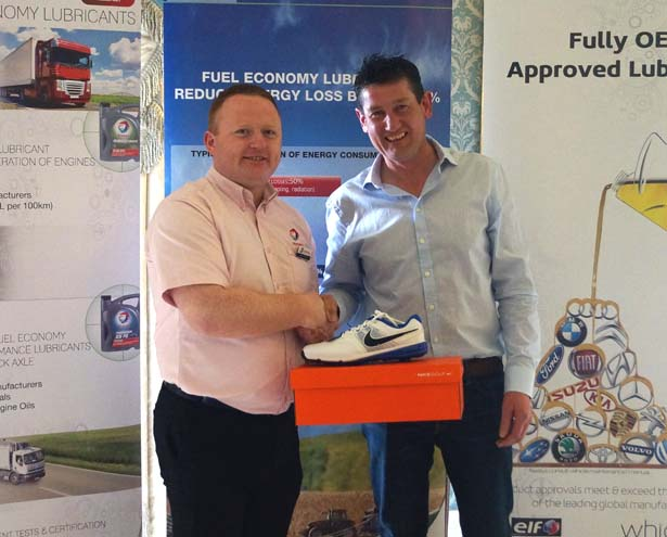 5th Prize: Eugene Holcroft, Holcroft Motors, with Damien Meehan, Finol Oils
