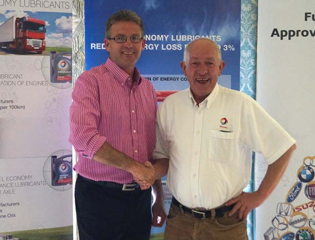 6th Prize: Andrew Curry, Dave Curry Motors, with John Reilly, Lubricants Direct