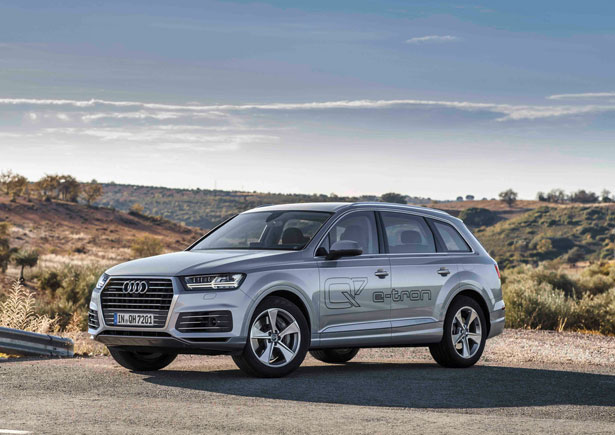 audi q7 e tron hybrid suv on the way. Black Bedroom Furniture Sets. Home Design Ideas