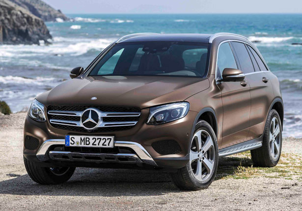 Pictured is the new Mercedes-Benz GLC, which achieved the highest score of the new 5 star rated cars. It has also moved up behind the Volvo XC90 in to second-place in overall ratings.