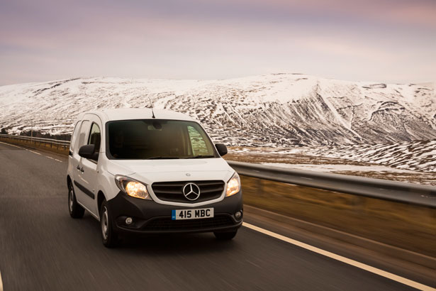 Mercedes benz vans launches free driver safety guide for 2015 mercedes benz van