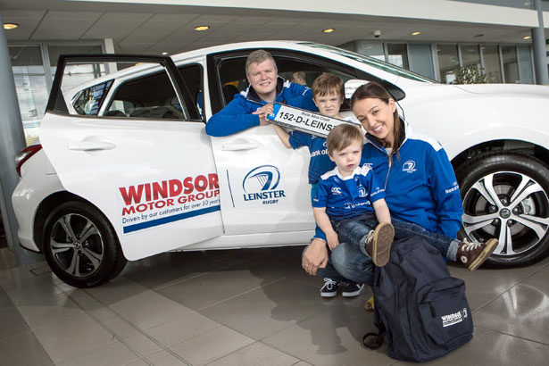Leinster rugby fans given chance to win ultimate road trip for Nj motor vehicle tickets