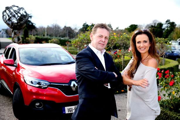 Brand Ambassadors Ian Dempsey and Lorraine Keane