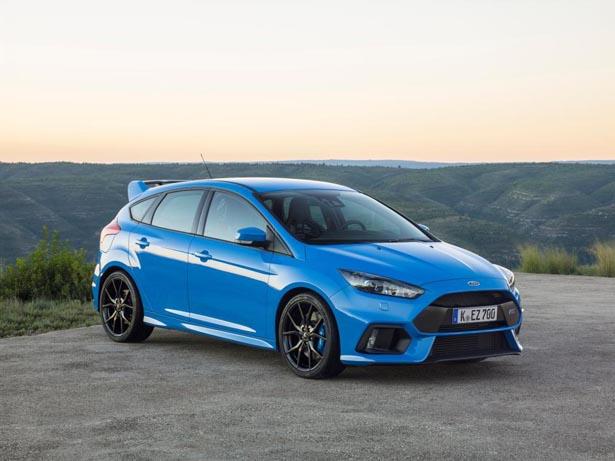 New Ford Focus RS hatchback