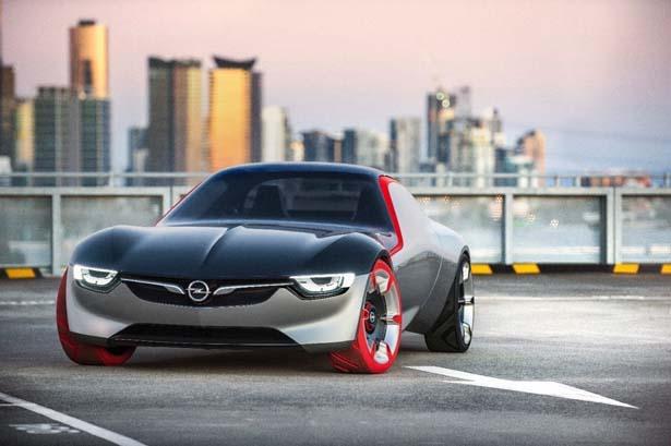 New Opel GT Concept Car
