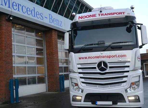 Noone - Actros delivery