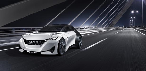 Peugeot's Fractal concept car.