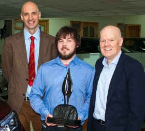Pictured (L to R) is Brian Bowler, Director Bowlers Garage, Killarney,
