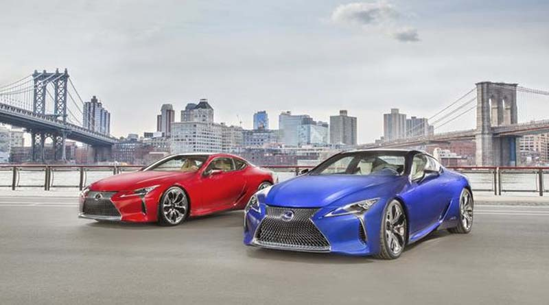 New Lexus LC 500 LC 500h - NY Show