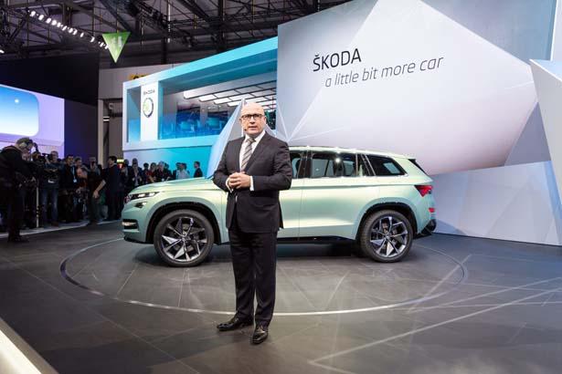 New Skoda VisionS SUV Concept
