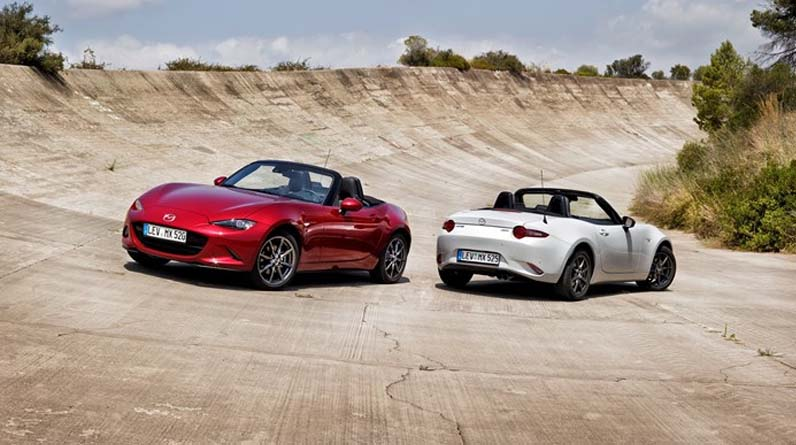 New Mazda MX-5 Stunning front to back