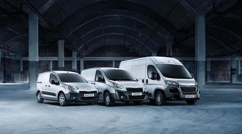 Peugeot Van-LCV Range