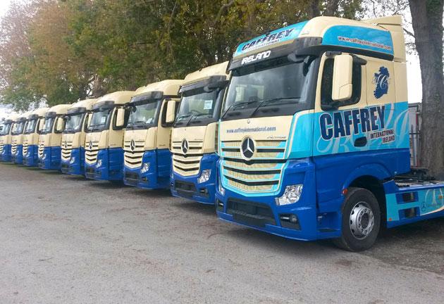 Caffrey international increases mercedes benz fleet for Mercedes benz fleet