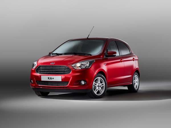 New Ford KA+