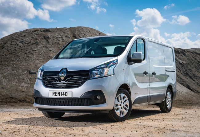 New Renault Trafic Van