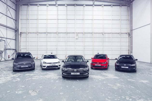 Volkswagen Car range