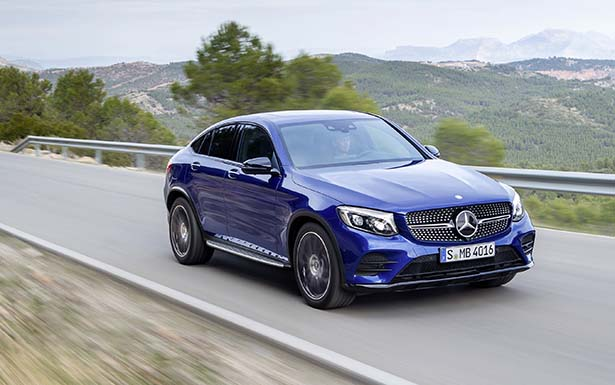 Mercedes-Benz GLC Coupé, brilliantblau