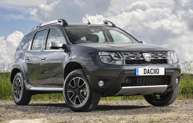 new dacia duster phase 2 suv offers more motorshow. Black Bedroom Furniture Sets. Home Design Ideas