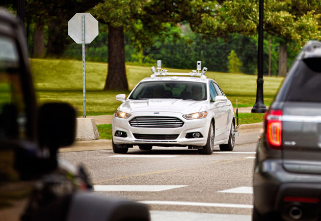 Ford targets fully autonomous vehicle ford motor company for Ford motor company charitable giving