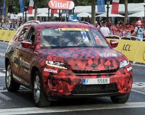 All-new-Skoda-Kodiaq-in-camouflage-in-Tour-de-France
