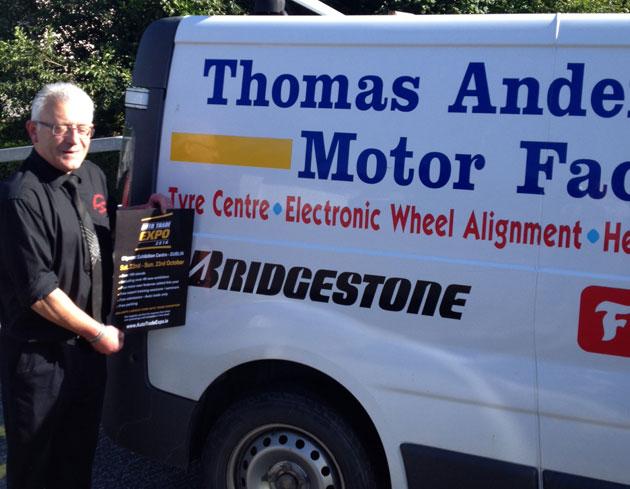 Thomas Anderson, Anderson Motor Factors, Kingscourt