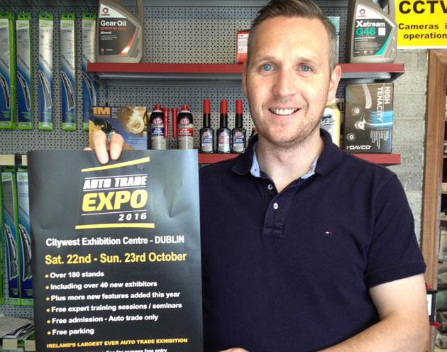 Philip Brady,Cavan Motor Factors, Cavan