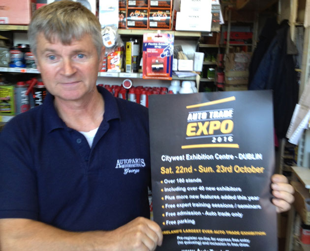 George Mahon, Auto Parts Gorey