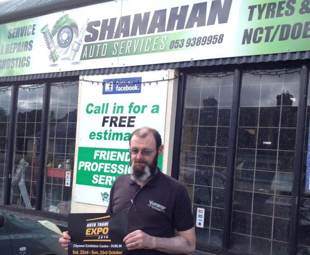 Jim Mc Gannon, Shanahan Auto Services, Ballyedmond, Gorey