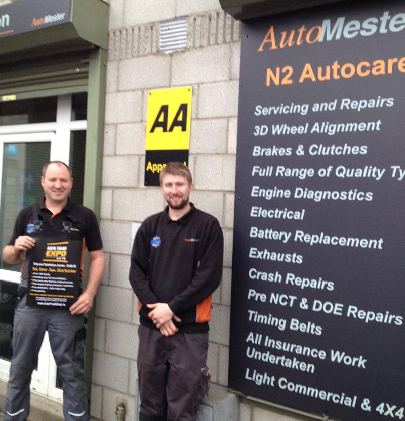 Alan Larkin, Justin Lynch, N2 Autocare, Ashbourne, Co. Meath
