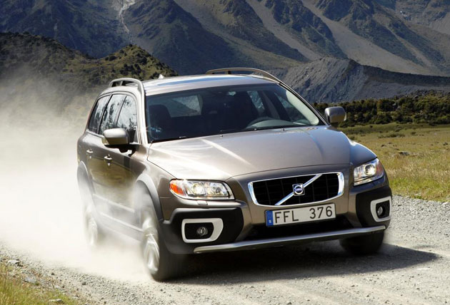 Pictured is the Volvo XC70. Soon we will see Volvo launch their all-new V90 Cross Country.