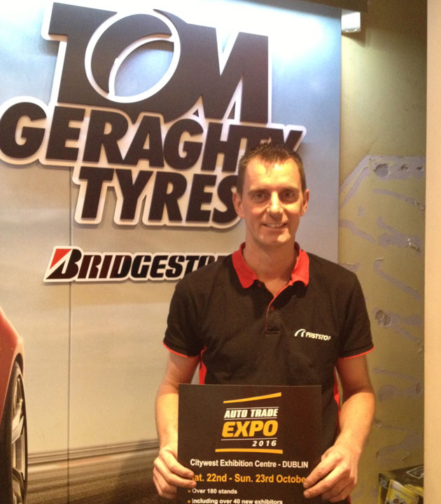 David Geraghty, Tom Geraghty Tyres, Waterford