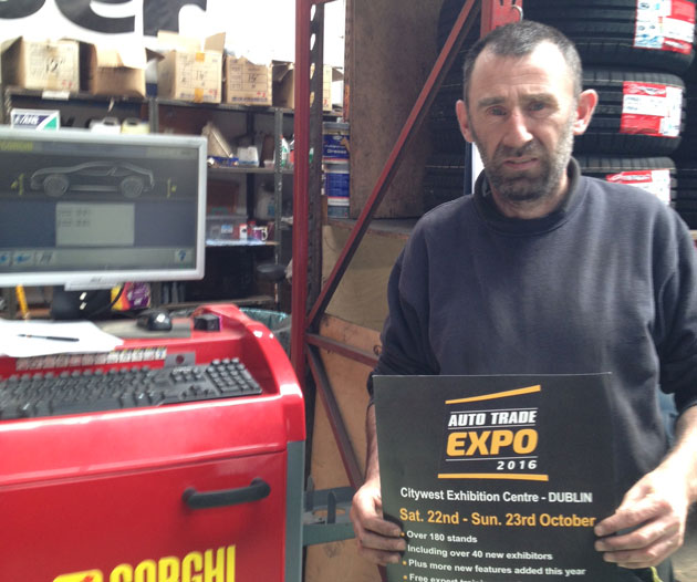 Larry Guinan, Larry Guinan Tyres, Waterford