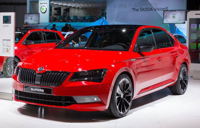 new-skoda-superb-sportline-for-2017