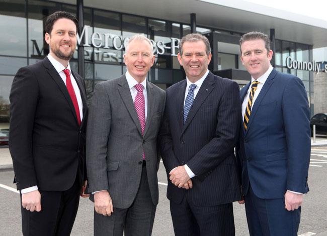 Mercedes Benz Delegation Visits New Connolly Dealership In