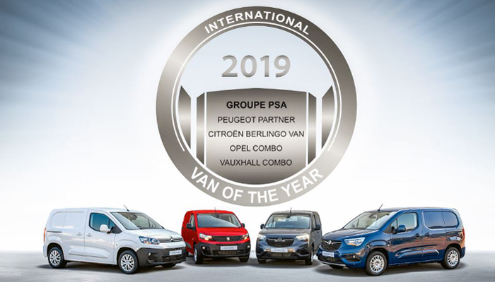 77e0127caac6d8 Four vans jointly win International Van of the Year 2019 - Autotrade.ie